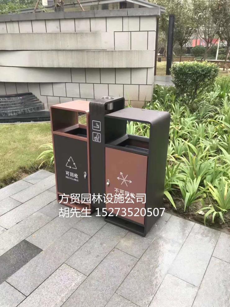 定做不锈钢垃圾桶;优质不锈钢金属异形垃圾箱定做