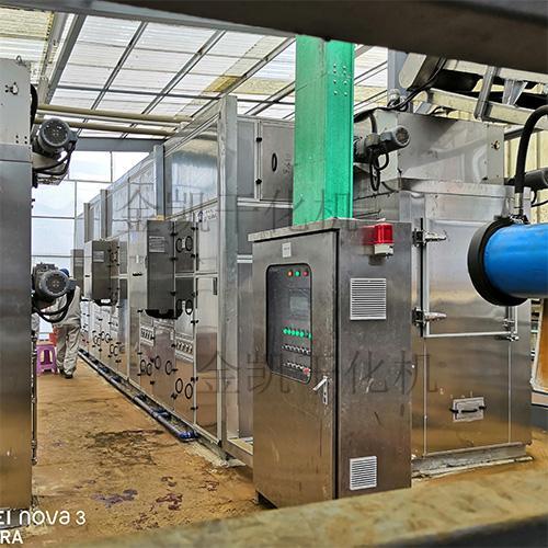 凱能印染污泥低溫余熱自動干化設備