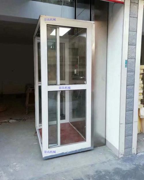 陕西韩城二层小型家用电梯-家庭式升降机报价