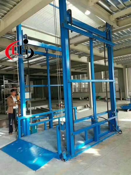 陕西西安升降货梯 液压升降电梯2-10吨货梯多少钱一