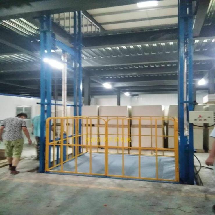 海西乌兰四层液压升降货梯(杂物电梯)市场批发价格