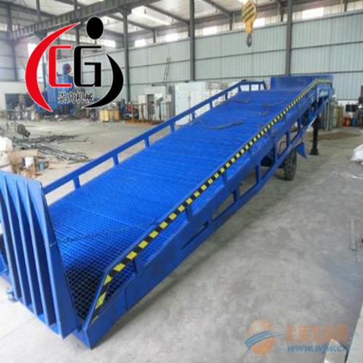 甘肃兰州移动登车桥 液压式登车桥 集装箱卸货平台