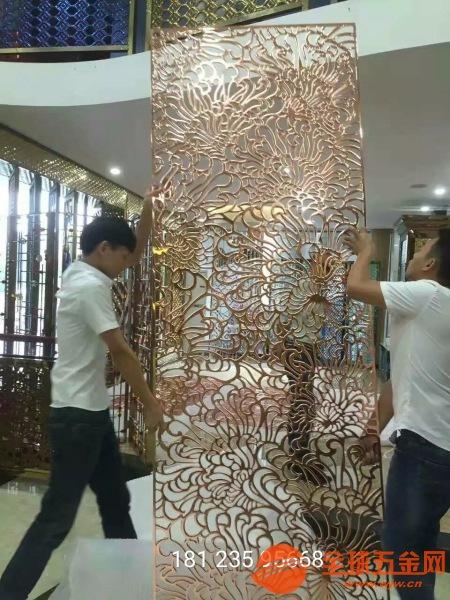 苏州定制铝合金折叠屏风铸铝仿铜组合隔断供应厂家售后服务完善