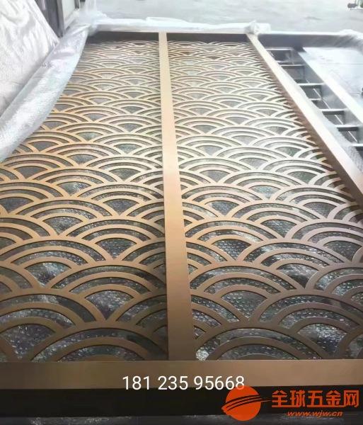 中山定制铝合金折叠屏风铸铝仿铜组合隔断大品牌值得信赖