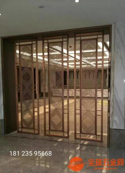 杭州定制铝合金折叠屏风铸铝仿铜组合隔断厂家质量上乘规格齐全