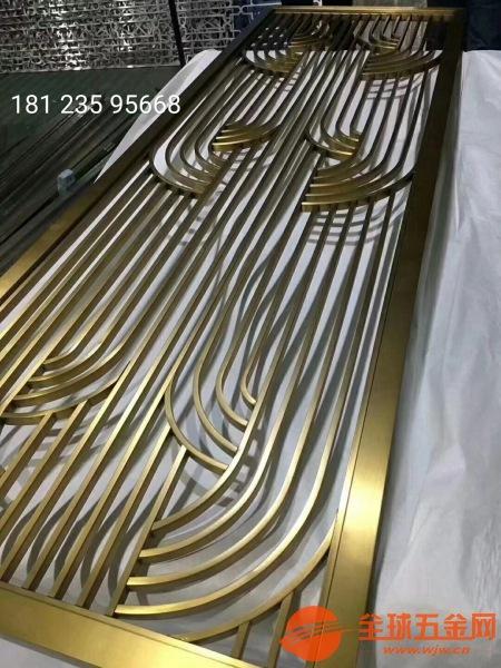 武汉不锈钢金属雕刻风铝雕屏风供应厂家售后服务完善