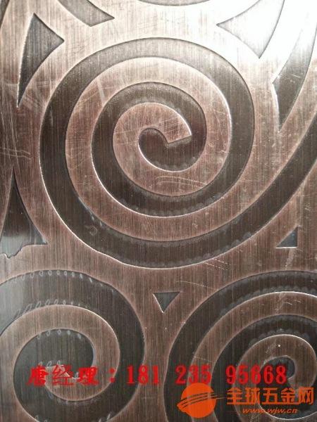 三明酒店古铜不锈钢屏风酒店大堂仿古铜花格供应厂家售后服务完善