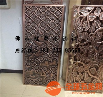 佛山紫铜浮雕制品优质供应商选材精良