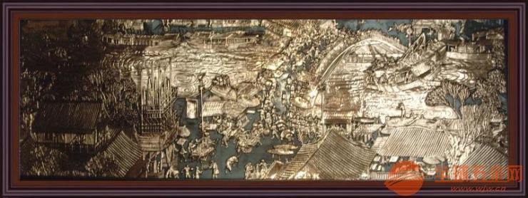 汕头仿铜铝雕刻壁画实力派生产厂家品质保障