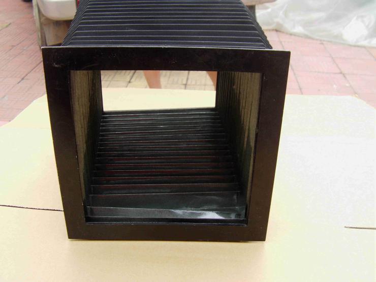 嵘实磨床导轨风琴防护罩,七子型风琴防护罩