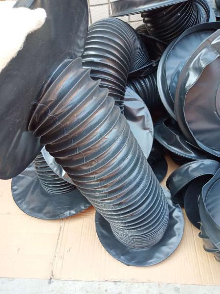 嵘实圆形防尘罩_风琴油缸防护罩