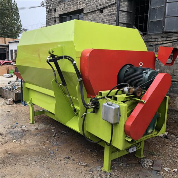 TMR全混合日粮设备 汕头均匀混合草粉搅拌机