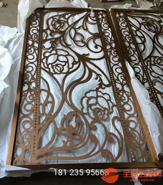 福州定制铝合金折叠屏风铸铝仿铜组合隔断现货供应坚固耐