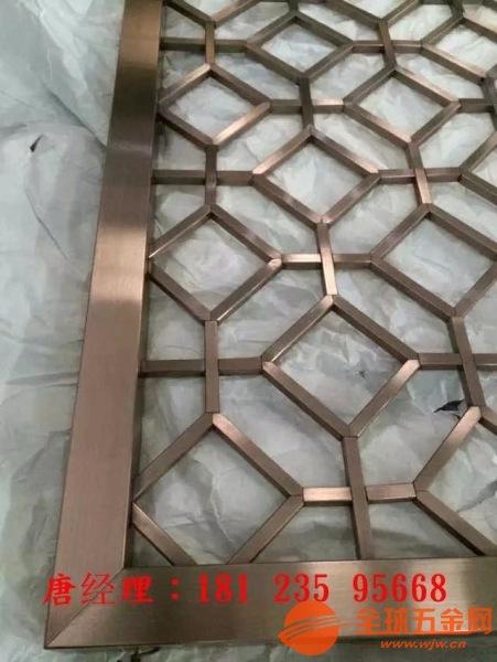 佛山定制铝合金组合屏风铸铝仿铜组合隔断专业批发销售安