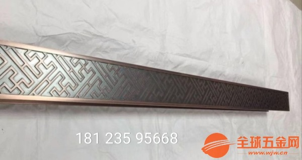 韶关中国风铝雕会所屏风中国风铜雕供应厂家售后服务完善