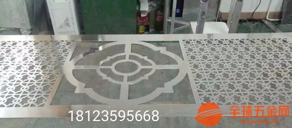 佛山中国风铝雕餐厅屏风中国风铜雕格栅厂家专业制造品质可靠