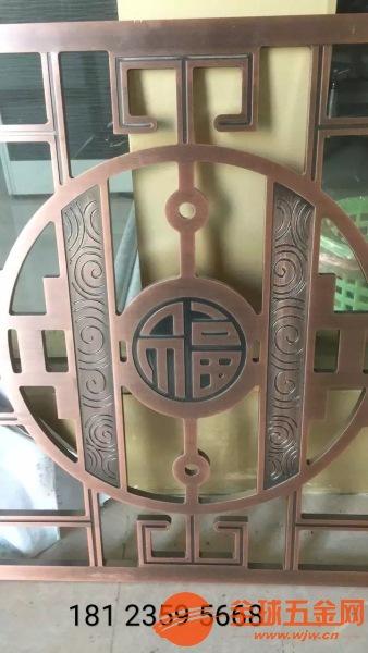 南宁铜板雕刻护栏铝板雕刻护栏供应厂家售后服务完善
