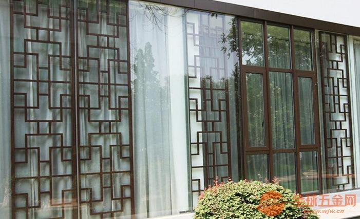 清远中国风仿古铜铝雕格栅中国风铜雕组合屏风厂家选料精良质量可靠