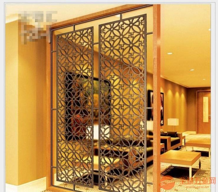 汕头铝合金中国风花格价格铸铝仿铜中国风屏风出厂直销质优价实