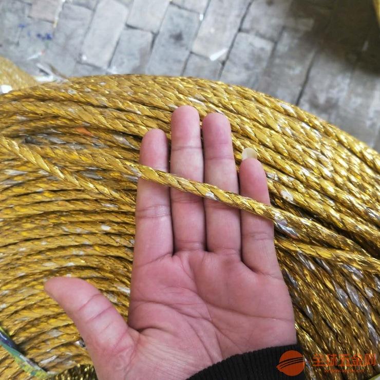 黄金绳用于废纸打包绳型号选择