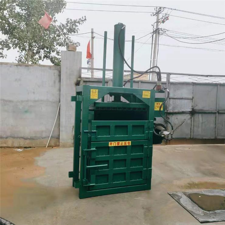 泰州 多功能廢紙殼打包機 編織袋回收壓縮機