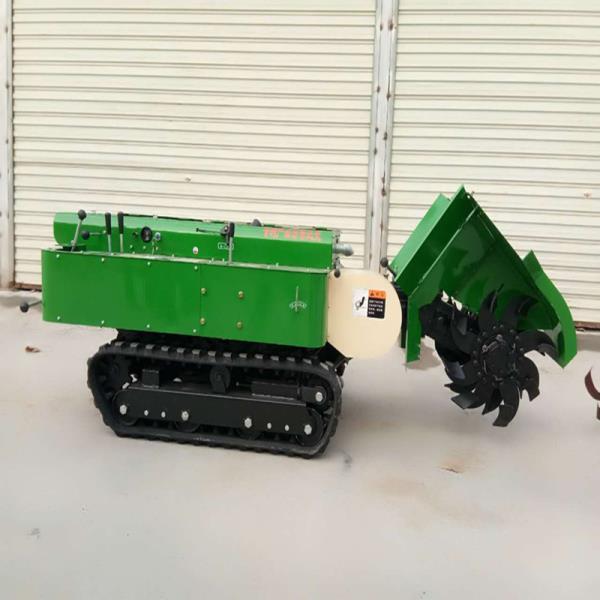 自走式旋耕管理机 自动转向施肥开沟机 果园低矮旋耕机