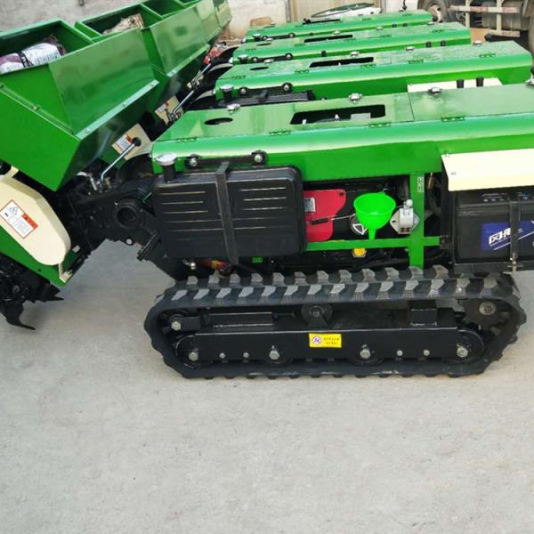 金佳牌耕機開溝起壟機 履帶遙控開溝機 柴油新式拖拉機