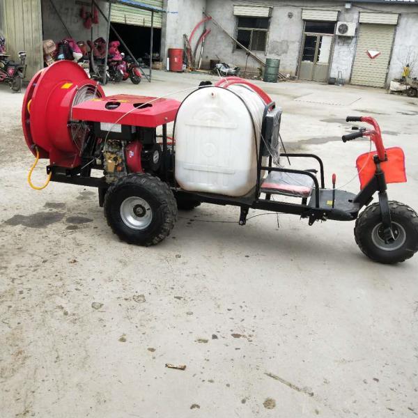 园林植保打药机 灭菌消毒喷雾器 风送汽油高压喷雾机