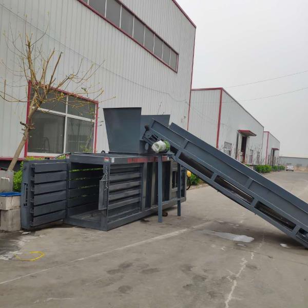 全新160吨卧式废纸液压打包机质量好