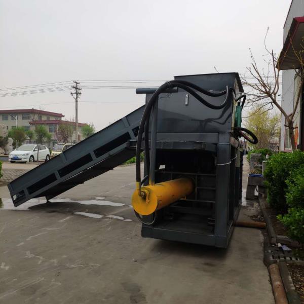 锦州废垃圾塑料袋卧式打包机生产厂家