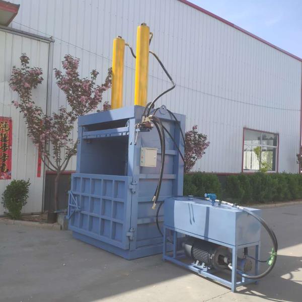 南通半自动废纸屑液压打包机自产自销