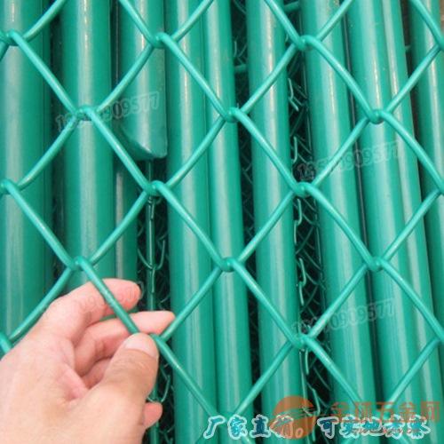 篮球场围网材料价格 体育运动场围网 清远水源地勾花护