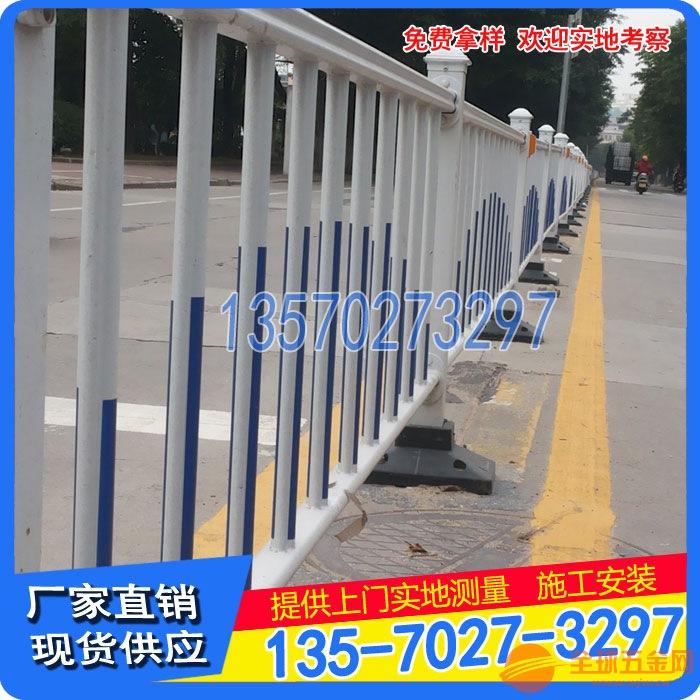 海口道路护栏厂 人行道护栏定制 海南市政栅栏热卖