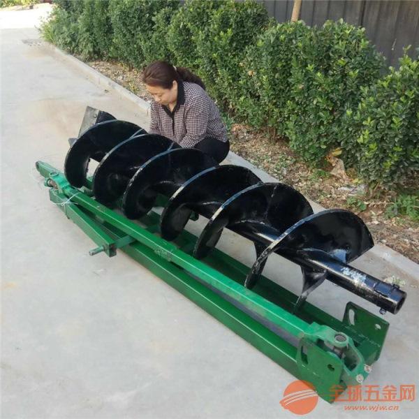 鹤壁 拖拉机挖坑移栽机厂家