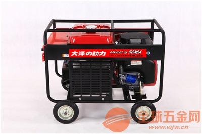 190A汽油发电电焊机重量轻