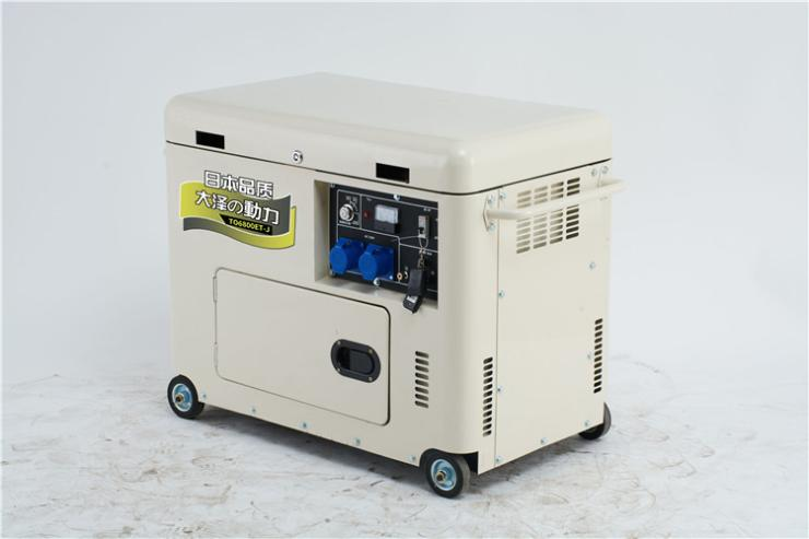 5千瓦柴油发电机带切割机