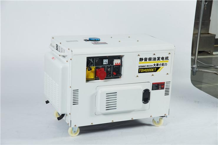 上海工程使用10千瓦柴油發電機