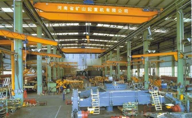 河南省矿山:上包下花式25吨葫芦龙门吊品牌选用