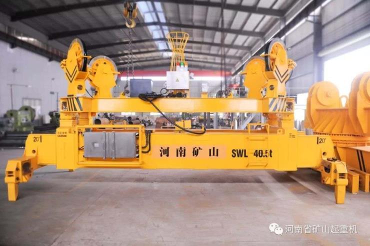 河南矿山:MH型35吨电动葫芦门式起重机新设计