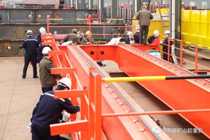河南礦山:LB型5噸10.5米礦用防爆單梁起重機安全