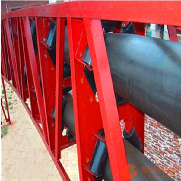 圆管带式输送机输送各种粒状物料固定型