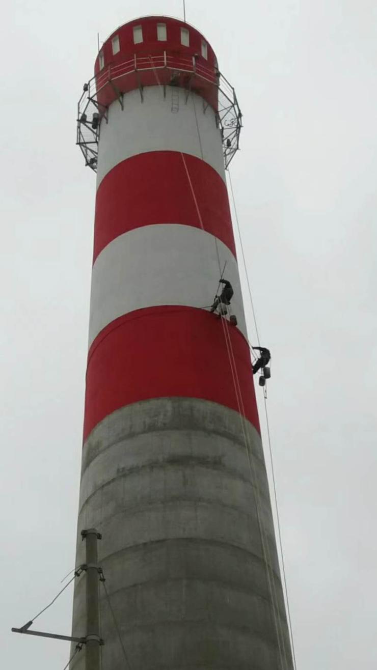 河北烟囱刷油漆公司/团队欢迎您烟囱新建