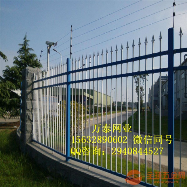 围墙围栏 围挡防护栏 锌钢栅栏