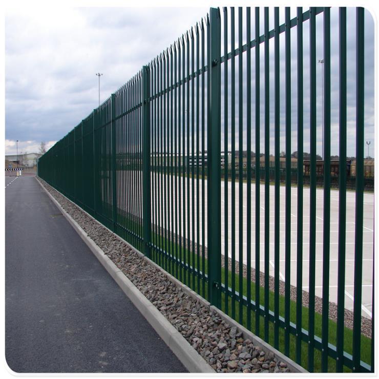 厂家批量生产欧式护栏尖桩护栏palisade护栏