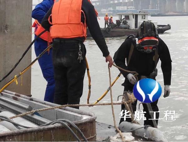 新闻:三河市蛙人水下检查水库闸门、潜水员水下维修闸门