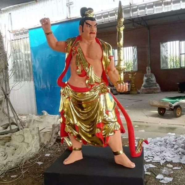 紫薇大帝神像 三官爷雕像 三清四御佛像厂家