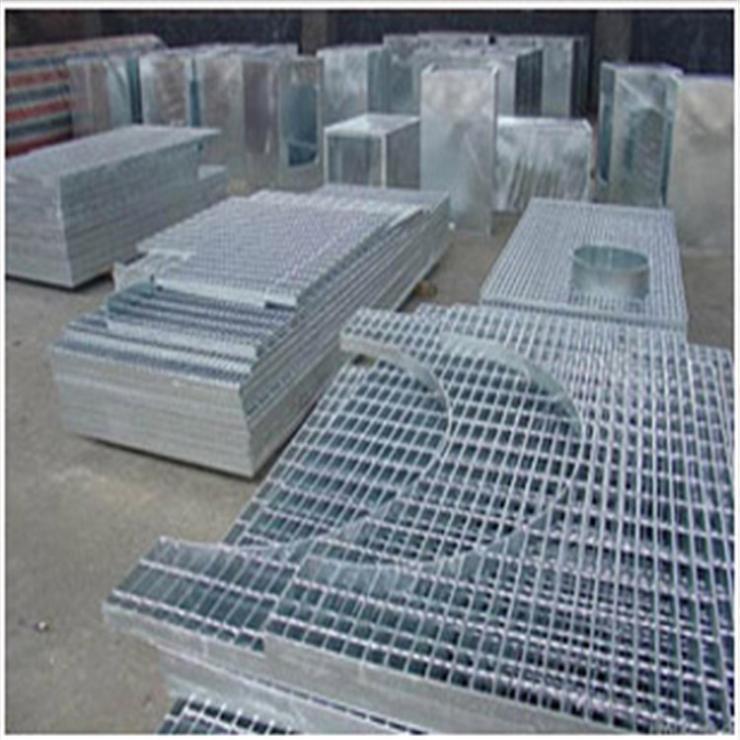 河北科迈钢格板厂家直销电厂平台插接异型热镀锌钢格板