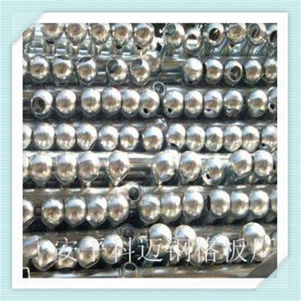 热镀锌球形立柱球型立柱栏杆厂家电厂球形立柱围栏