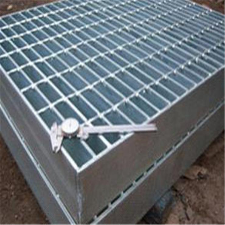 河北科迈钢格板厂家直销热镀锌平台异型钢格板