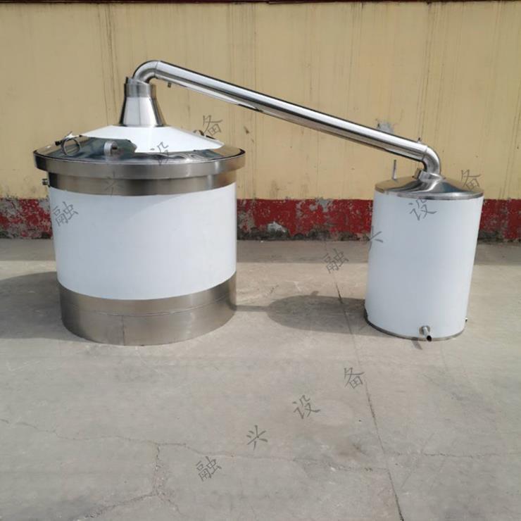 500斤304酿酒设备 家庭酿酒设备 蒸汽酿酒设备不
